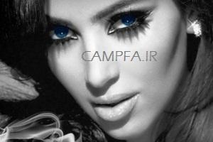 عکس با حجاب کیم کارداشین برای یک مجله عربی!! - www.campfa.ir