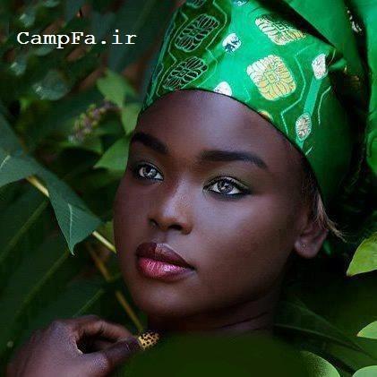 زیباترین دختر آفریقا www.campfa.ir