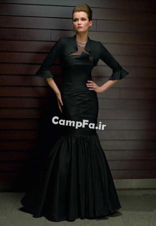لباس مجلسی مشکیl,مدل لباس مجلسی سیاه