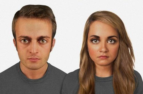 عکس: چهره انسان تا ۱۰۰۰۰۰ سال آینده www.campfa.ir