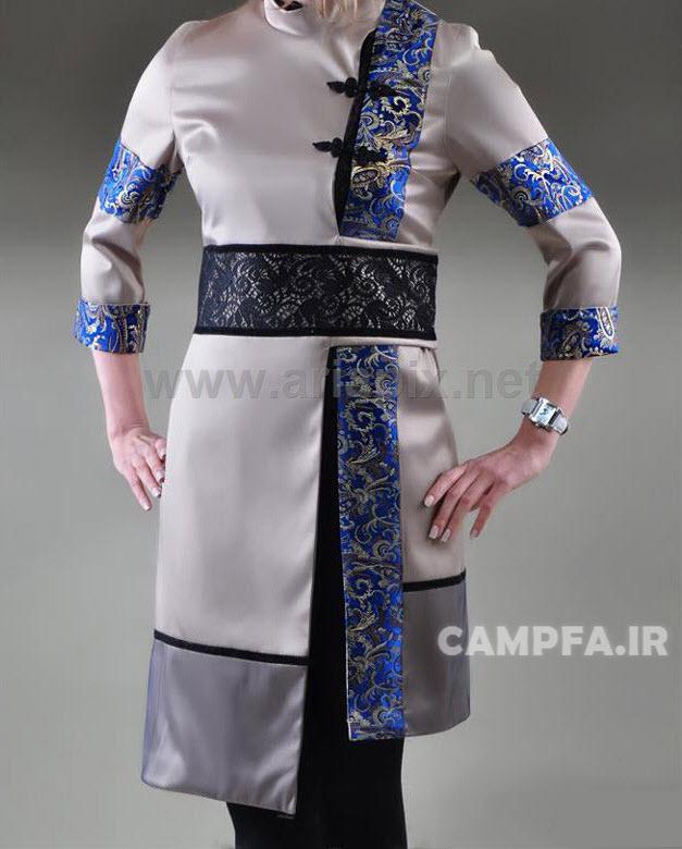 CAMPFA.IR مدل های جدید جذاب مانتو 92