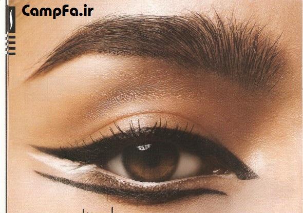 مدل خط چشم , خط چشم گربه ایی , زنانه و دخترانه