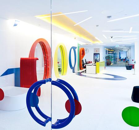 دکوراسیون جالب و دیدنی دفتر گوگل در انگلستان - www.campfa.ir