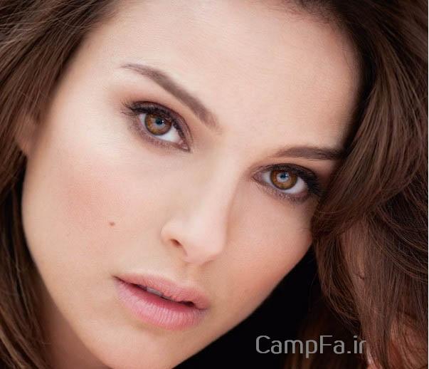 عکس های زنانی با زیباترین و جذاب ترین بینی، چشم، لب و مو جهان