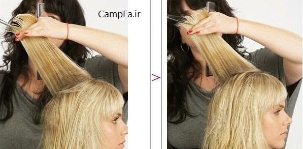 آموزش کوتاه کردن موی خانم ها (کوپ)