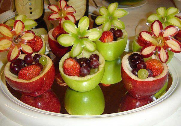 طرح های جدید میوه ارایی و سفره ارایی برای سفره هفت سین ۹۲ - www.campfa.ir