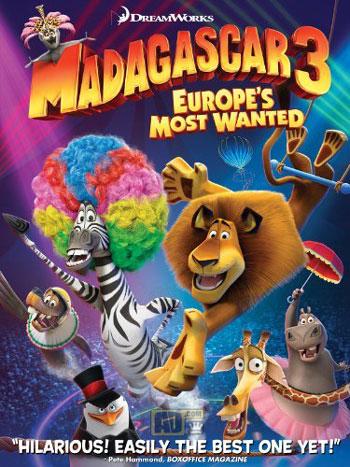 دانلود انیمیشن Madagascar 3 : Europe's Most Wanted دوبله فارسیwww.campfa.ir