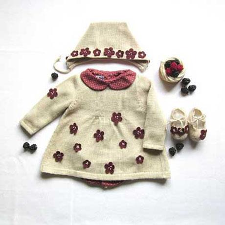 مدل جدید لباس های بافتنی کودکان | www.campfa.ir