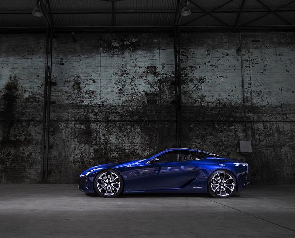 عکس های ماشین جدید لکسوز Lexus LF-LC Hybrid Concept| wWw.CampFa.ir