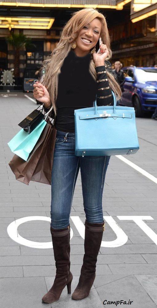لوس ترین و ولخرجترین دختر بریتانیا| www.campfa.ir