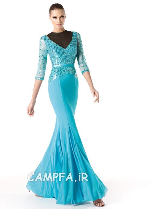 مدل لباس مجلسی پرونویا 2014 www.campfa.ir