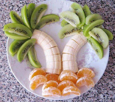 تزیین غذا با انواع خوراکی ها www.campfa.ir