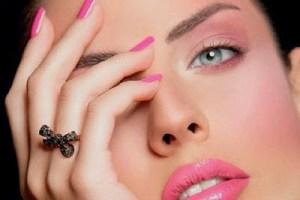نکاتی مهم برای یک آرایش زیبا,مدل ارایش صورت