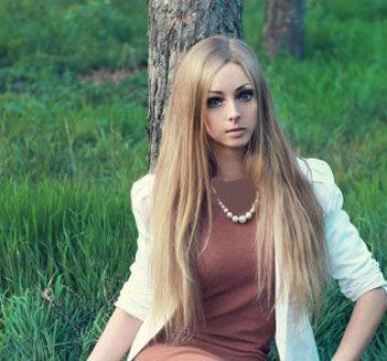 عکس های عروسک باربی زنده ی اوکراینی