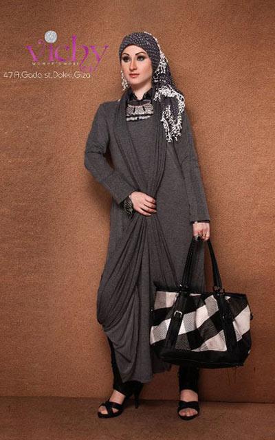 مدل های جدید مانتوهای بلند پاییزی 2012