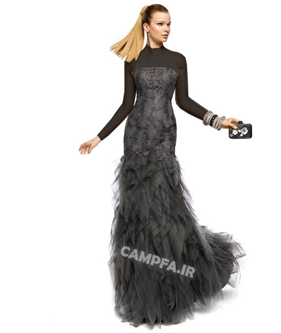 مدل لباس شب 2013 سبک اسپانیایی - www.campfa.ir