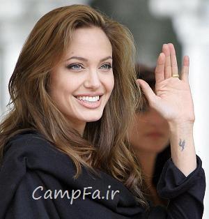 ۱۷ راز زندگی آنجلینا جولی که تا بحال فاش نشده! | www.campfa.ir