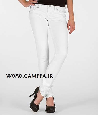 مدل جدید شلوار لی زنانه سال ۹۲ - www.campfa.ir