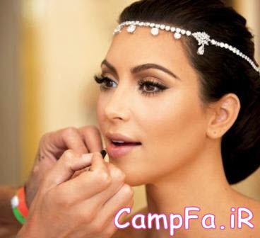 نکاتی در مورد آرایش برنزه عروس