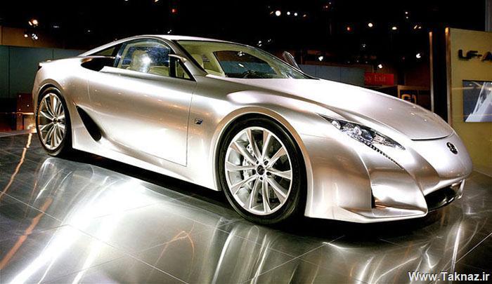 www.taknaz.ir - عکس های ماشین Lexus LFA