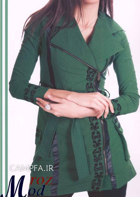 مدل های جدید و زیبا مانتوی ایرانی سال 2013 www.campfa.ir