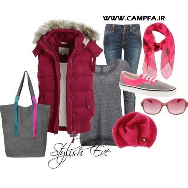 ست لباس های صورتی زنانه 2013 | www.campfa.ir