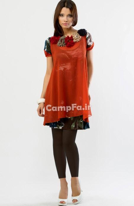 مدل پیراهن مجلسی دخترانه 2013 www.campfa.ir