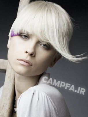 مدل های جدید هایلایت و رنگ مو سال 92 - www.campfa.ir
