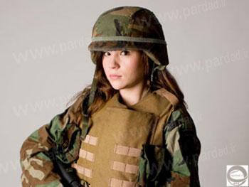 زایمان عجیب یک سرباز زن در خط مقدم + عکس www.campfa.ir