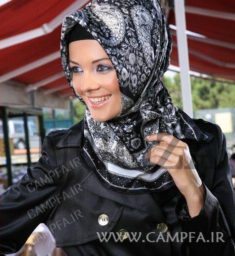 مدل جدید مانتو روسری 2013 سری دوم - www.campfa.ir