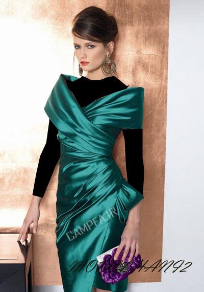 مدل لباس مجلسی اروپایی 2013 - www.campfa.ir