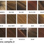 شناخت انواع رنگ موهای موجود در بازار