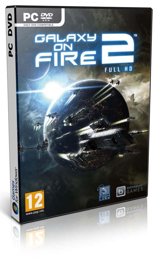 galaxy بازی زیبای Galaxy on Fire 2 برای PC