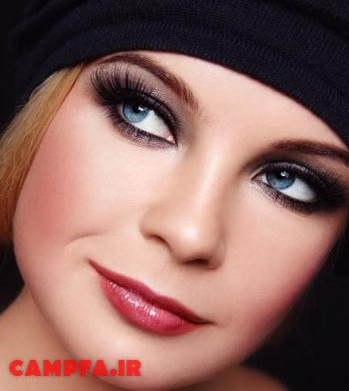آرایش صورت,آرایش چشم,آرایش لب www.campfa.ir