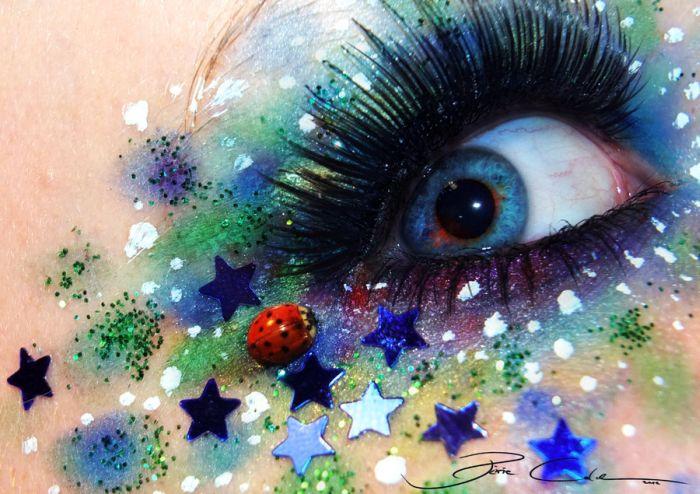 طراحی های هنری و زیبا روی چشم| wWw.CampFa.ir