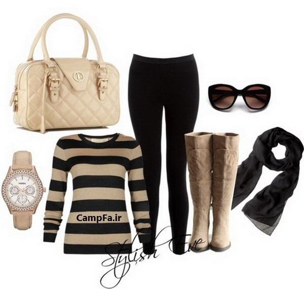 مدلهای ست پوشاک زنانه برای زمستان ۲۰۱۳ | www.campfa.ir