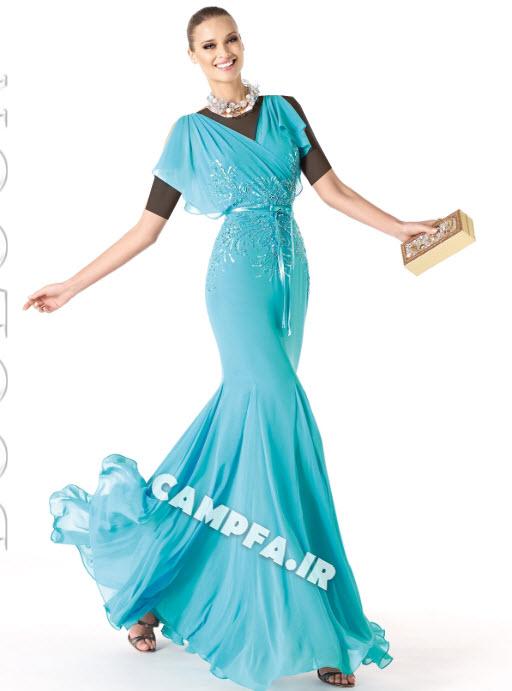 مدل لباس مجلسی پرونویا 2014 (سری دو) www.campfa.ir