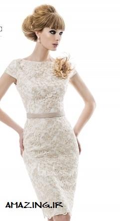 شیک ترین مدل های لباس مجلسی کوتاه 2014