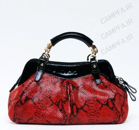مدل کیف رنگ قرمز زنانه و دخترانه سال 1392 - www.campfa.ir