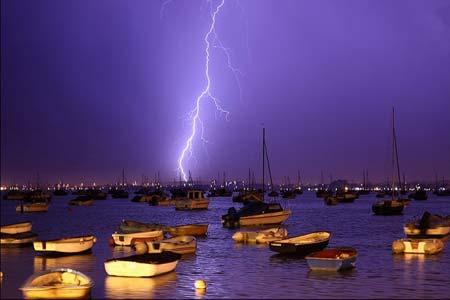رعد و برق در پول، انگلیس