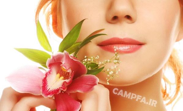 نور آفتاب در بهار پوست را درخشان و صاف می کند - www.campfa.ir