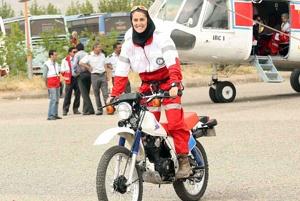 دختر ایرانی که دل شیر دارد با فعالیت هایی دیدنی! + عکس
