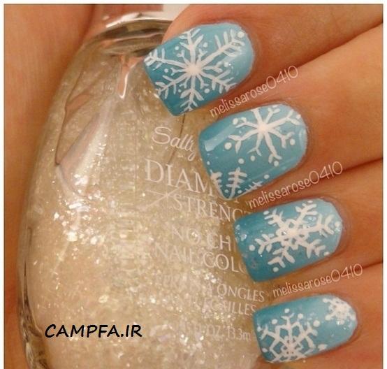مدل های طراحی روی ناخن (زمستانی) 2013 | www.campfa.ir