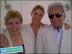 مادر و پدر شکیرا ایرانی هستند!!!؟؟