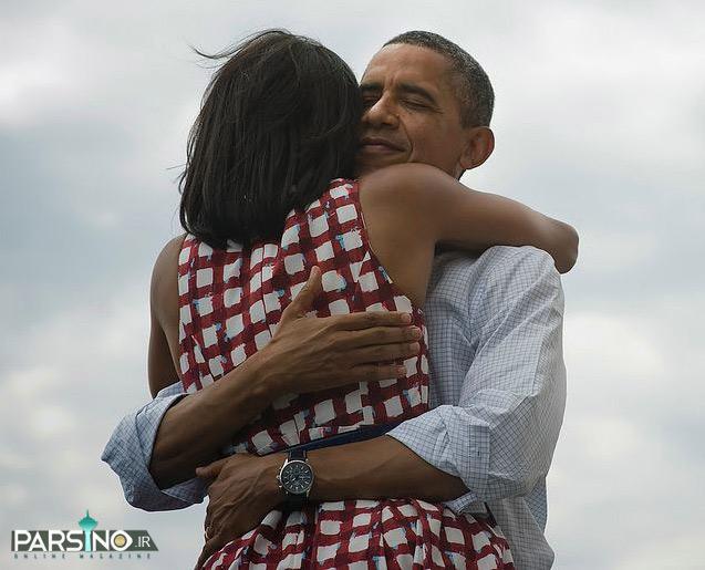 اوباما با این عکس رکورد بیشترین لایکدر فیس بوک را شکست!www.campfa.ir