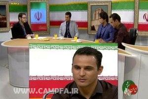 توهین زننده به آرش برهانی در برنامه زنده تلویزیونی www.campfa.ir