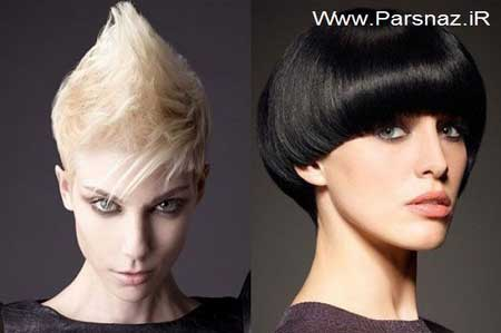 مدل موهای کوتاه و فشن دخترانه| wWw.CampFa.ir