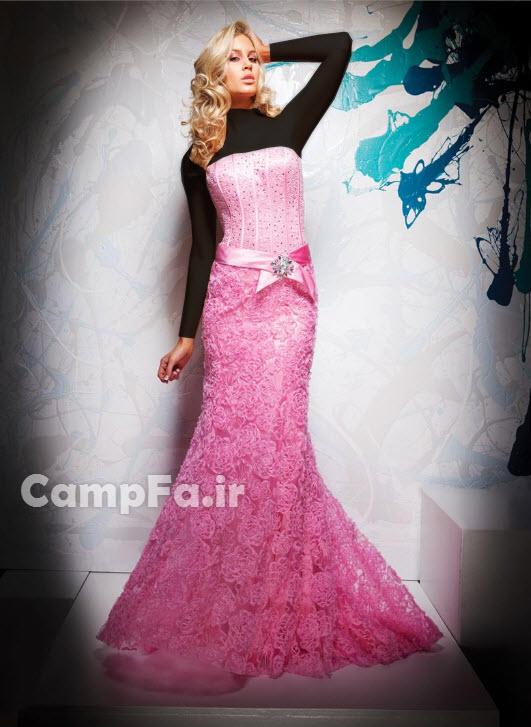 طرح های متنوع لباس مجلسی زنانه 2013 www.campfa.ir
