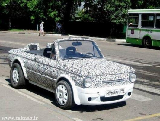 عکس هایی از عجیب ترین ماشین های دنیا در سال 2012