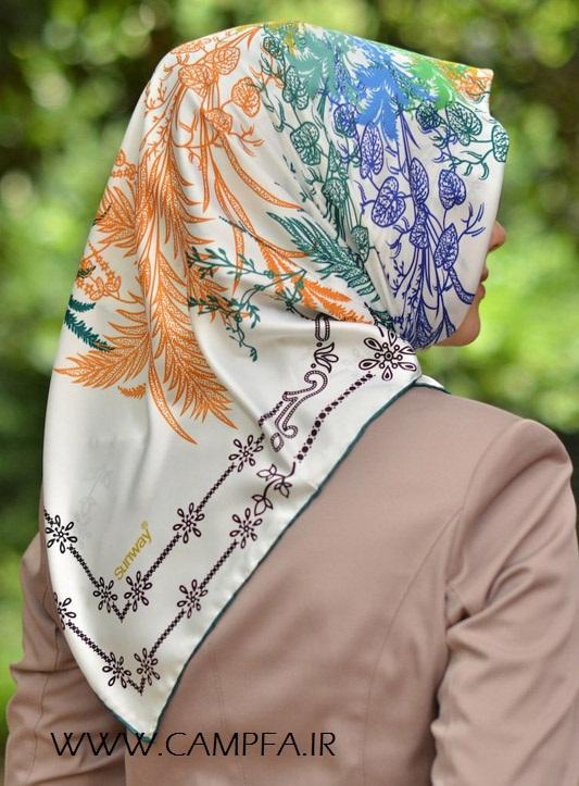 مدل های روسری جدید 2013 - www.campfa.ir